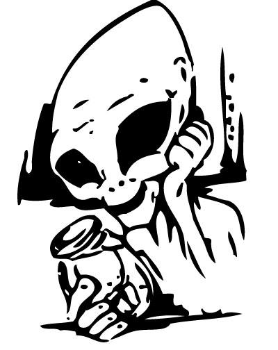 Alien Sticker 3