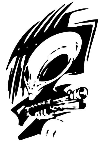 Alien Sticker 30