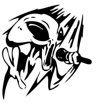 Alien Sticker 91