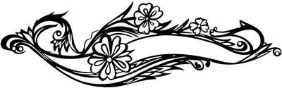 Flower Sticker 229