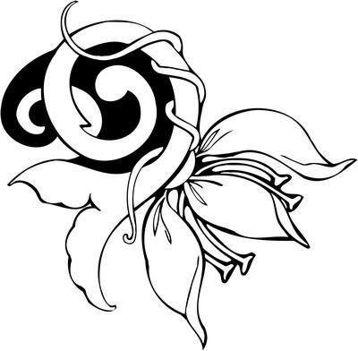 Flower Sticker 15