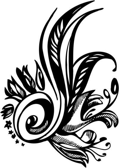 Flower Sticker 176