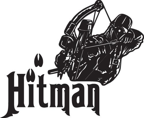 Hitman Bowhunting Sticker 2