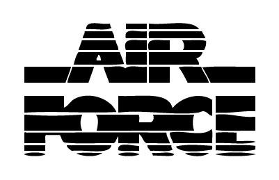 Air Force 1 Sticker