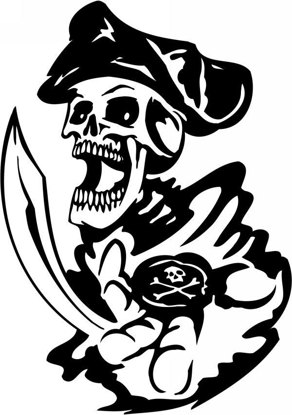 Pirate Sticker 42