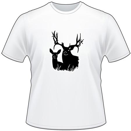 Deer Couple 3 T-Shirt