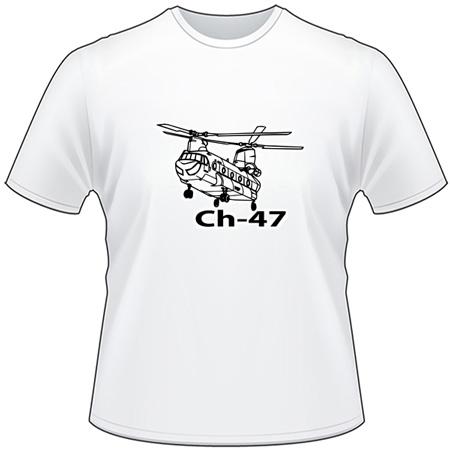 Chinook Ch-47 T-Shirt