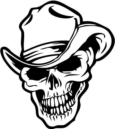 Skull 50 Sticker