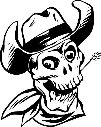 Skull 9 Sticker