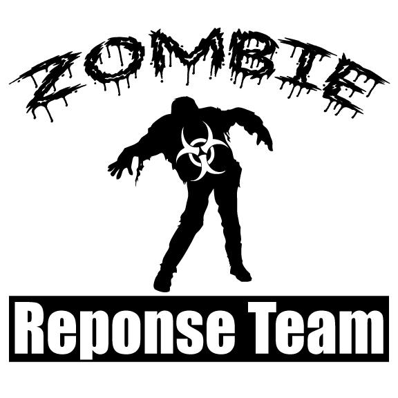 Zombie Response Team Sticker 3
