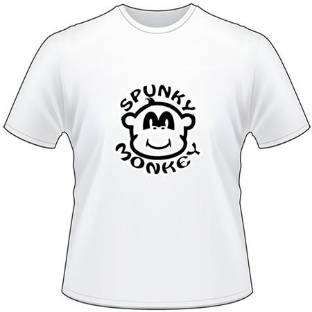 Spunky Monkey Sticker - Monkey Stickers   Elkhorn Graphics LLC