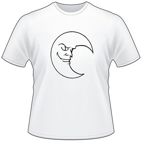 Moon T-Shirt 16