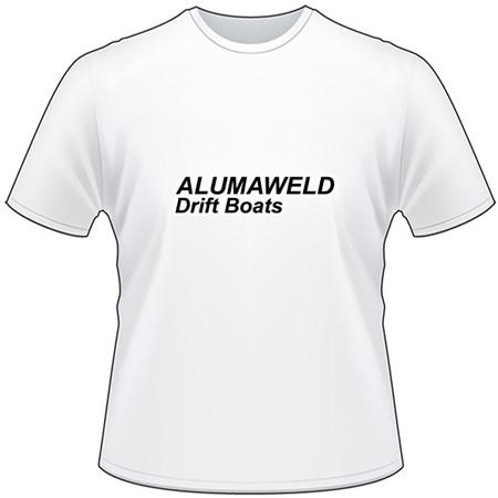 Alumaweld Drift Boat T-Shirt