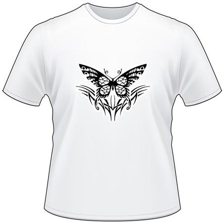 Tribal Butterfly T-Shirt 176