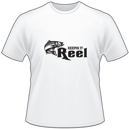 Keepin it Reel Striper Fishing T-Shirt
