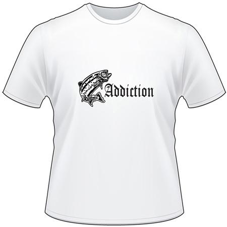 Addiction Salmon Fishing T-Shirt 2