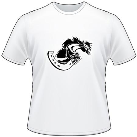 Flaming Horse T-Shirt 2