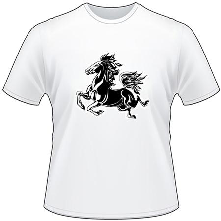 Flaming Horse T-Shirt 10