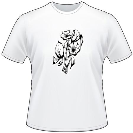 Tribal Flower T-Shirt 143