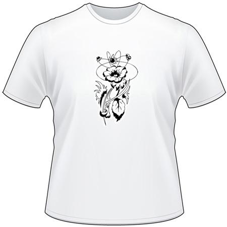 Tribal Flower T-Shirt 158
