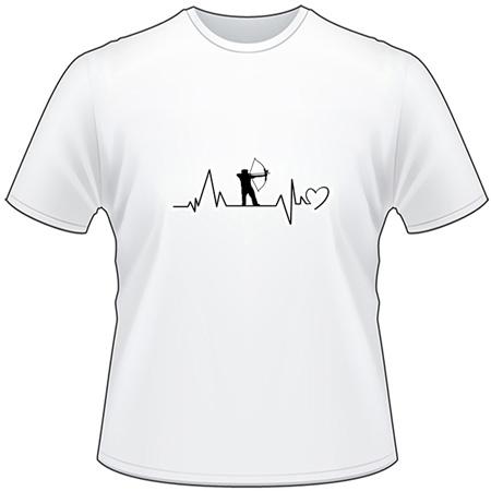 Bowhunter Heartbeat T-Shirt