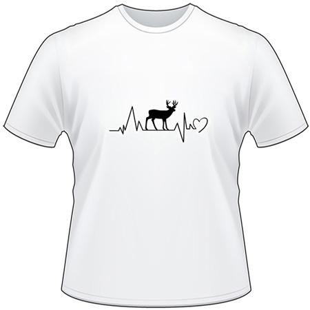 Buck Heartbeat T-Shirt