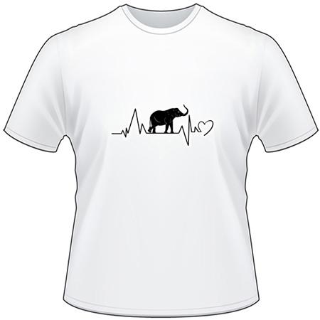 Elephant Heartbeat T-Shirt