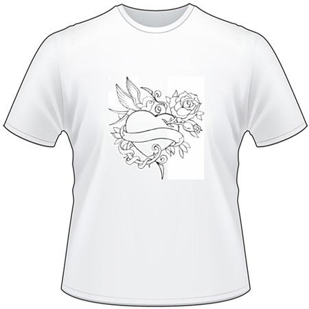 Heart T-Shirt 101