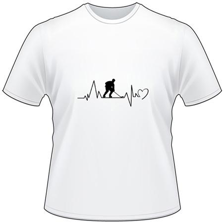 Hockey Heartbeat T-Shirt