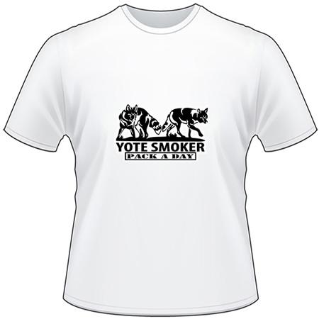 Yote Smoker T-Shirt
