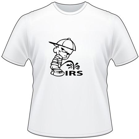 Pee On IRS T-Shirt