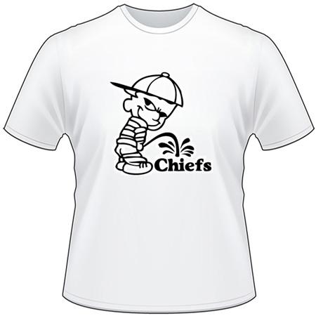 Pee On Chiefs T-Shirt