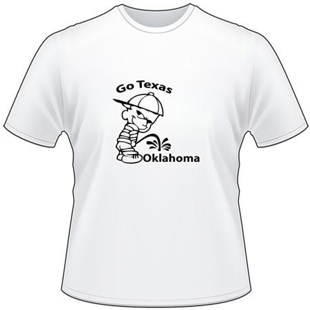 Texas Pee On Oklahoma T-Shirt