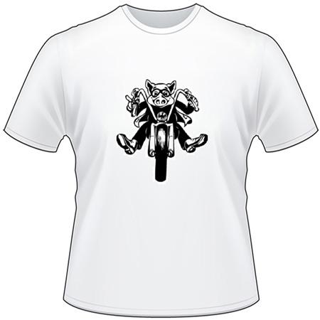 Motorcycle Hog T-Shirt