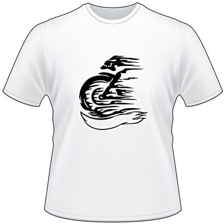 Tribal Bike T-Shirt 40