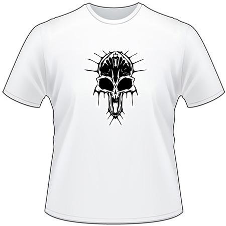 Cyber Skull T-Shirt 69