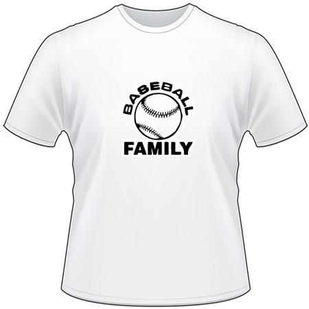 Baseball Family T-Shirt
