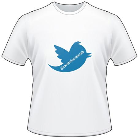 Twitter Username T-Shirt 2