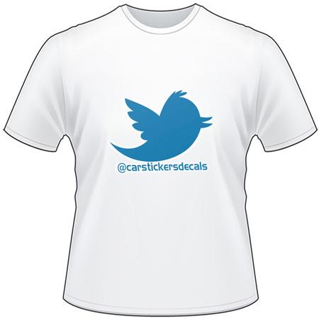 Twitter Username T-Shirt 3