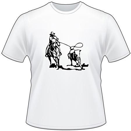 Calf Roping 6 T-Shirt