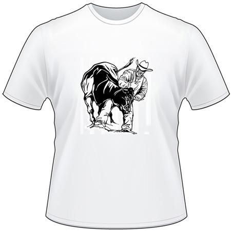Steer Wrestling 3 T-Shirt