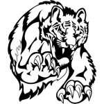 Big Cat Sticker 16