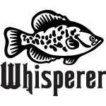 Crappie Whisperer Sticker