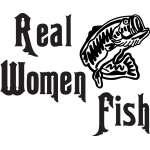 Real Women Fish Bass Sticker