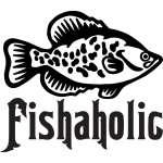 Fishaholic Crappie Sticker
