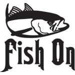 Fish On Tuna Fishing Sticker