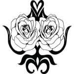 Rose Sticker 75