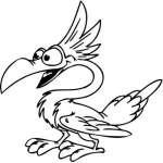 Funny Bird Sticker 6