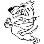 Funny Dog Sticker 2