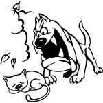 Funny Dog Sticker 9